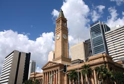 The Brisbane City Hall
