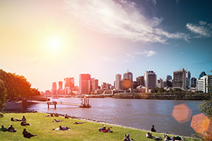 scenery picture of brisbane